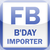 Facebook Birthday Importer